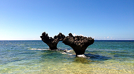 ハートロックビーチ